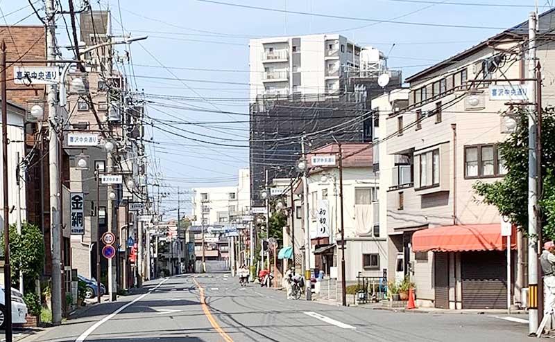 喜沢中央通り商店会